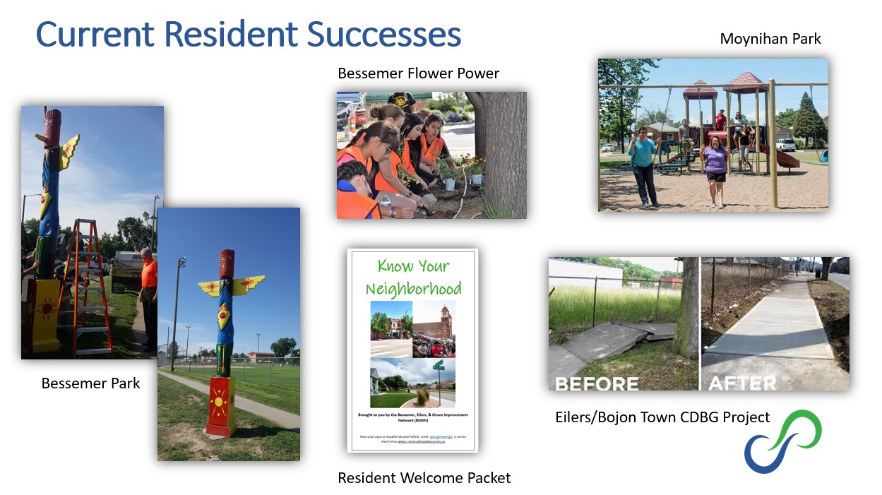 BEGIN has has success improving neighborhood parks, receiving $125,000 for infrastructure improvement, adding beautification to the neighborhoods, and much more!